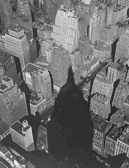 Edward Pfizenmaier-Empire State Building Shadow, N.Y.C.-1949