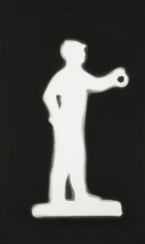 Ed Ruscha-Jockey-1988