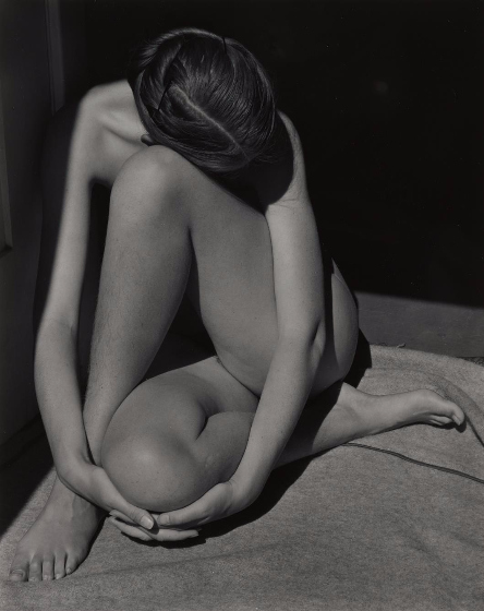 Edward Weston-Charis, Santa Monica (Nude)-1936