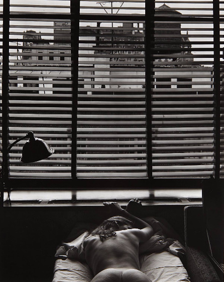 Edward Weston-Nude, New York-1941