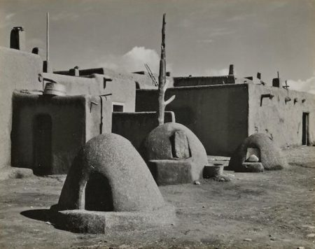 Edward Weston-Taos Pueblo, New Mexico-1933
