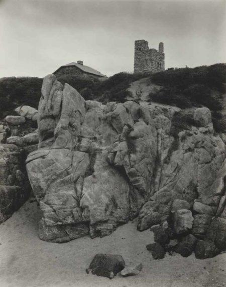 Edward Weston-Tor House And Hawk Tower Carmel-1930