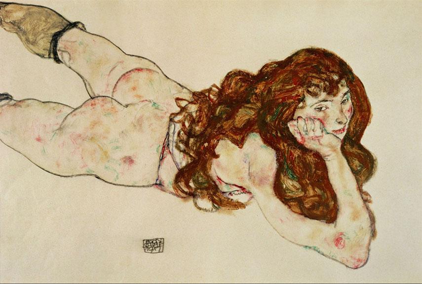 young leopold self schiele's expressionist arts paintings modern post terms egon schiele portrait woman klimt austrian gustav work contact schiele's