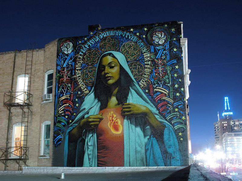 El Mac x Retna - Ave Maria - Salt Lake City, 2009 - 3
