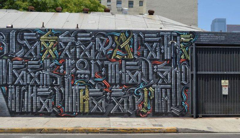 El Mac x Retna - Blessed Are the Meek, 2010 - 2
