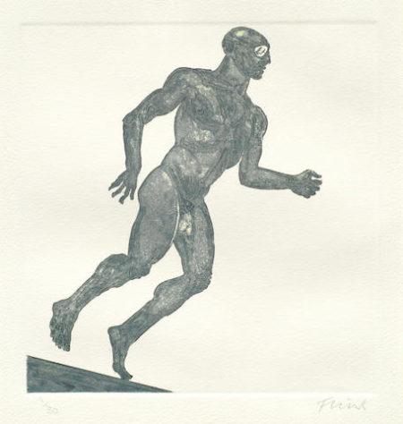 Elisabeth Frink-Running Man-1985