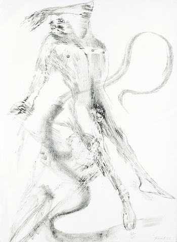 Elisabeth Frink-Spinning Man V & VI-1965