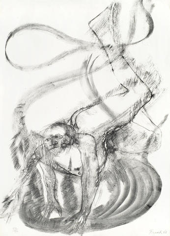 Elisabeth Frink-Spinning Man VI-1965
