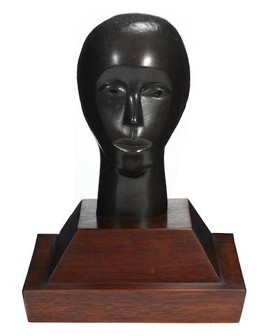 Elizabeth Catlett-Untitled (Single Face)-1980