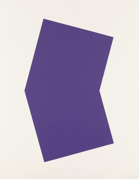 Ellsworth Kelly-Purple-2001