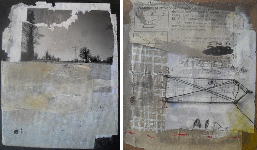 Emanuele Ravagnani - Untitled, 2012 (Left) - Untitled, 2013 (Right)