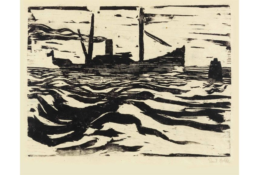 Using a block of wood and aquatint stencil with acid and metal is the relief intaglio lithography printing