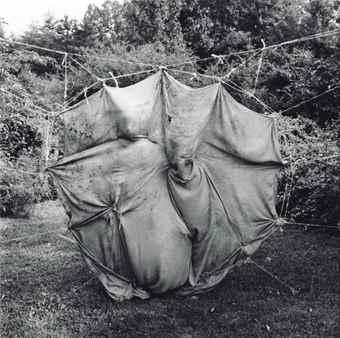 Emmet Gowin-Cloth Blanket, Danville, Virginia-1971