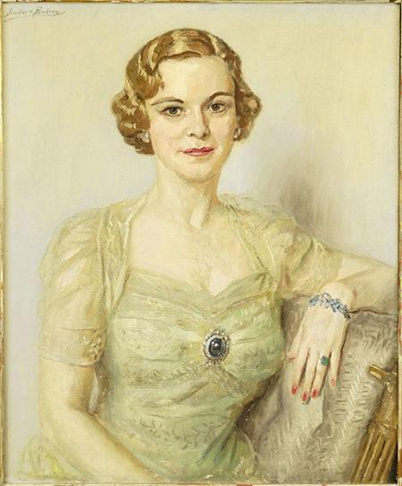 Endrey V. Sandor-Portrait of a Lady-
