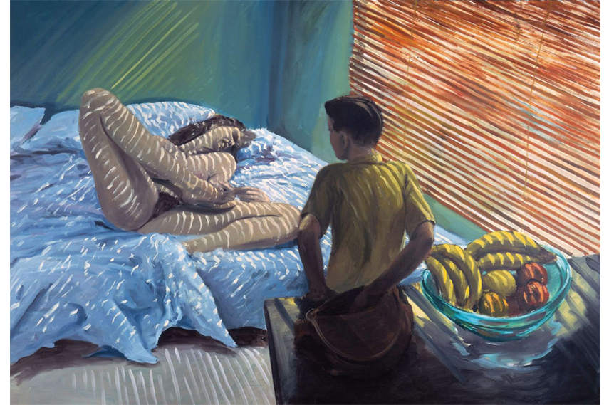 Eric Fischl - Bad Boy, 1981 - Part of the personal collection in Zurich - Image via Saatchigallery.com