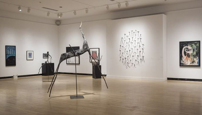 Eric Godin - Art Gallery of the Cultural Center of the University of Sherbrooke, 2015