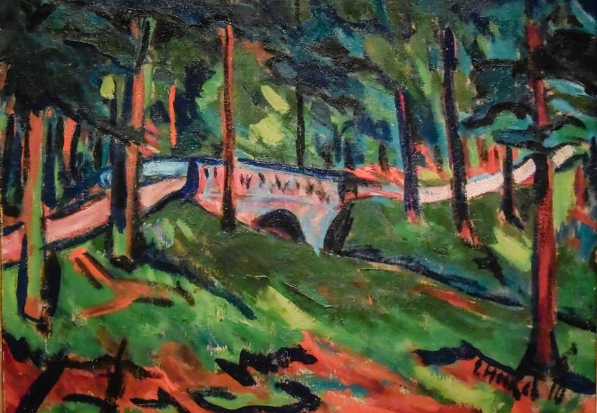 Kirchner Rottluff's biography from 1911 moved the style of Expressionism down the path of modern works