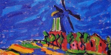 Erich Heckel - Windmill, 1909 - Image via bpcom