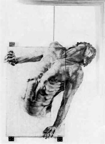 Ernest Pignon-Ernest-Composition-1977