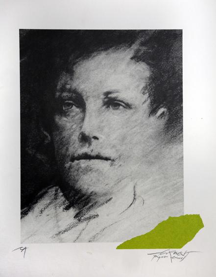 Ernest Pignon-Ernest-Regard, Rimbaud-1986