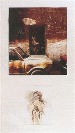 Ernest Pignon-Ernest-Salome I-1990