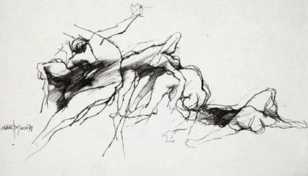Ernest Pignon-Ernest-Sans titre-1971