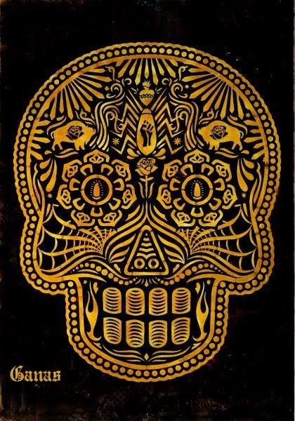 Ernesto Yerena-The Day Of The Dead-2012
