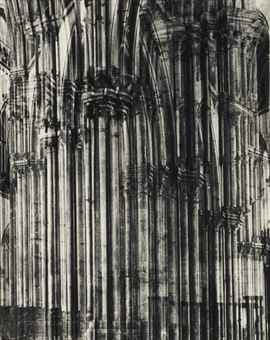 Erwin Blumenfeld-Cathedrale de Rouen-1937