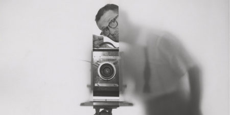 Erwin Blumenfeld - Self Portrait (detail) - New York - 1950 © The Estate of Erwin Blumenfeld