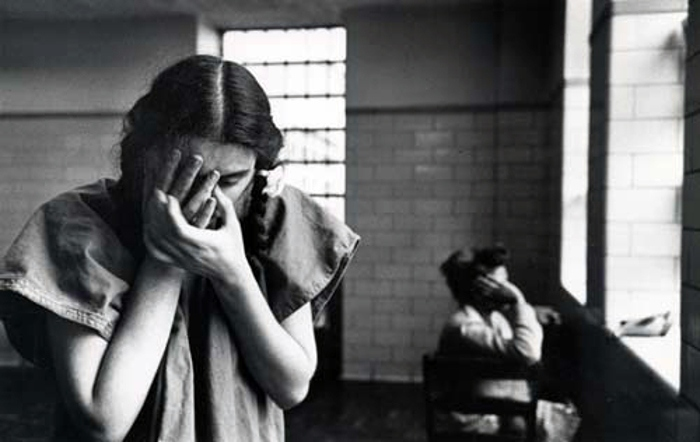 Esther Bubley - Mental Hospital, 1949, photography