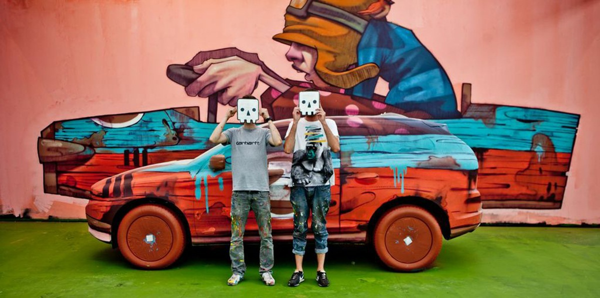 Etam Cru at Volvo Art Session in Zurich, 2013 - image via jetsetfashionmagazinecom