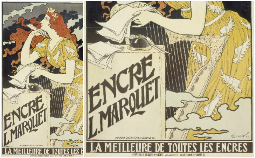 Eugène Grasset – Encre L. Marquet - 1892 - Poster
