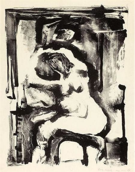 Untitled (Nude)-1954