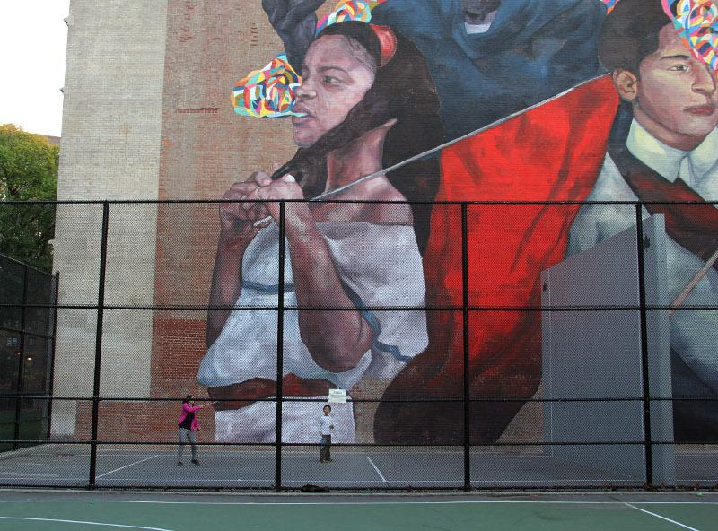 Ever - The second conquest - East Harlem, New York City, 2015 - photo by William Alatriste - 2