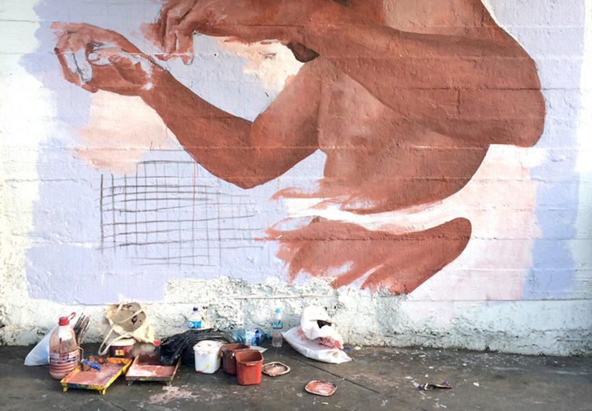 Mural in Lima