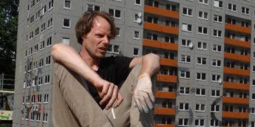 street art, urban art, Berlin, stencil, building, architecture, installation