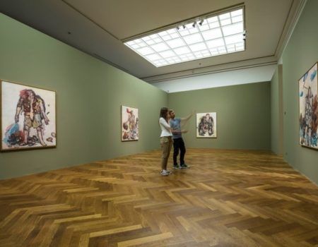 Georg Baselitz Paintings of Heroes on View at Staedel Museum