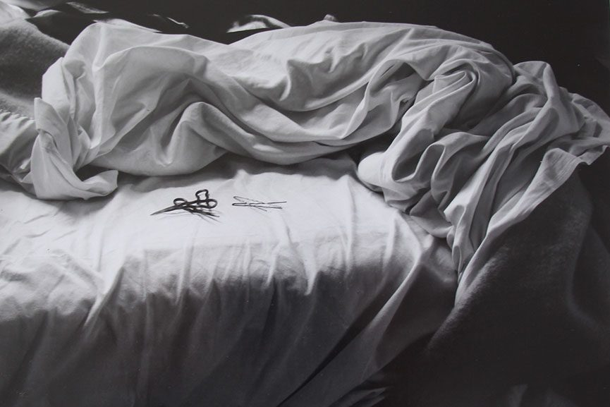 Imogen Cunningham, The Unmade Bed, 1957