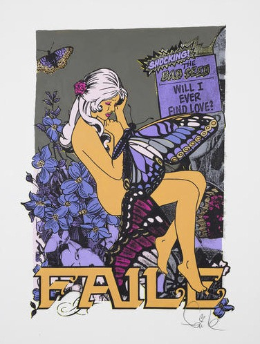 Faile-Butterfly Girl Orange-2003