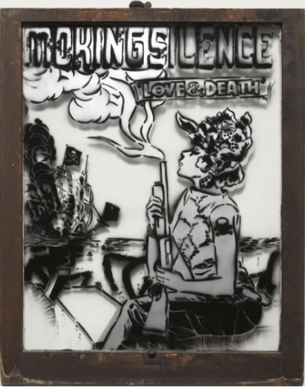 Faile-Smoking Silence, Love and Death No.10-2005