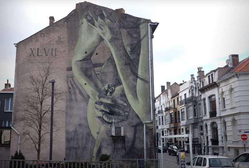 Faith47 Belgium, 2016 world city years graffiti 2014 paint design walls media