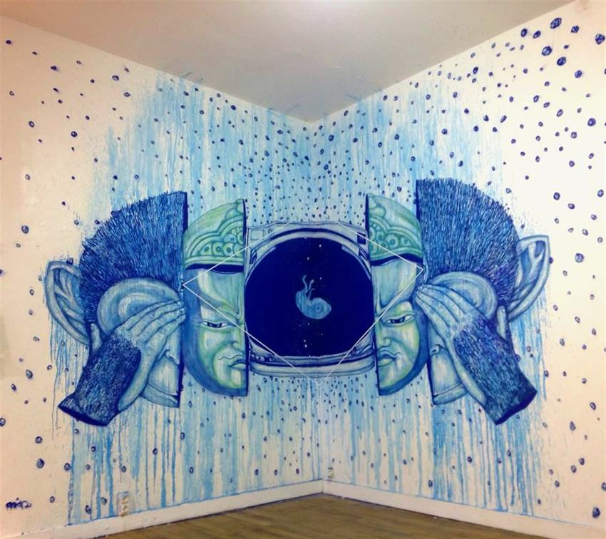 Fansack - Embryo, Area gallery, Paris, 2015