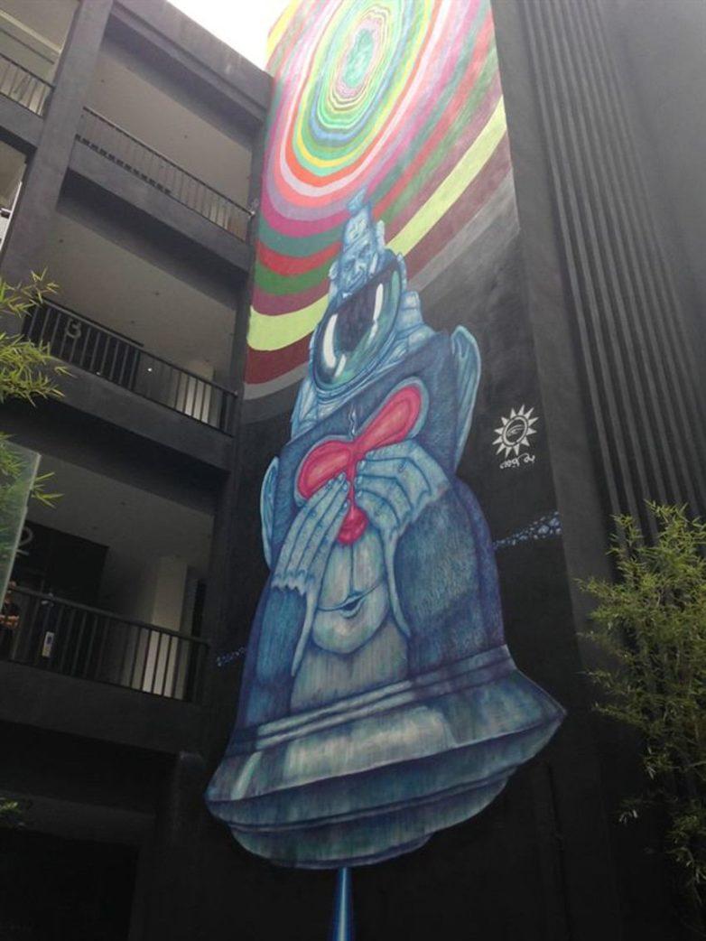Fansack - Evolutionnisme, Chengdoo, China, 2014