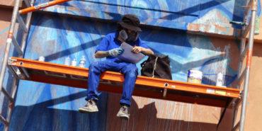 Fansack -  KAT (detail), 2015, photo credits graffiti-art-on-trains.blogspot.com