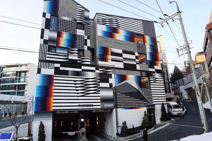 Felipe Pantone in Seoul, South Korea