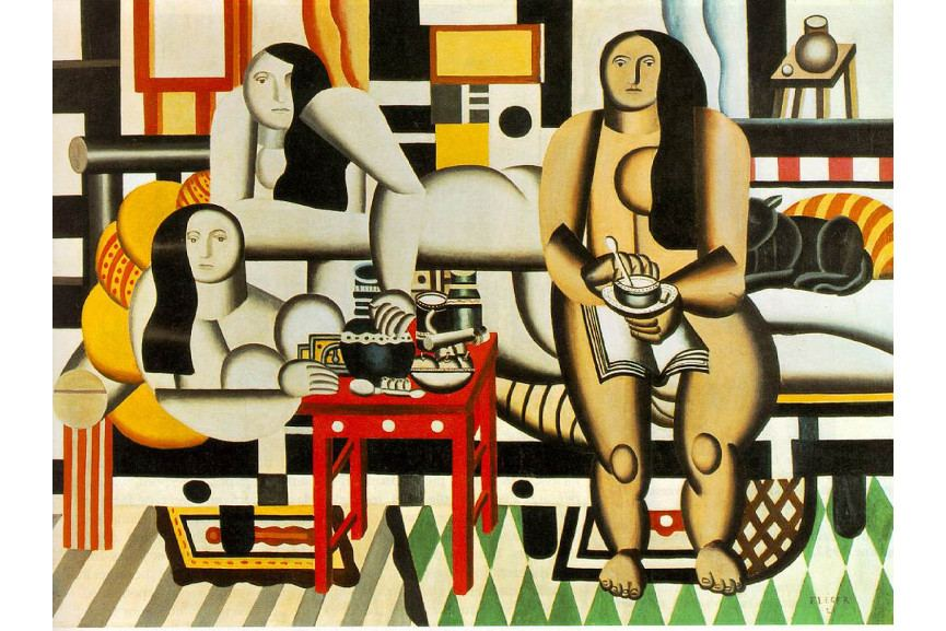 Fernand Léger - Three Women, 1921 - Image via myfreewallpapersnet