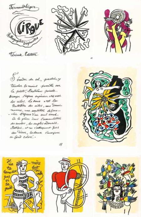 Fernand Leger-Cirque-1950