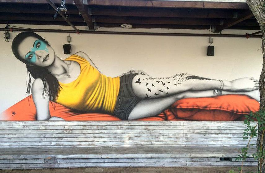 home prints crime Fin DAC - Freebird, 2014, Suviche, Wynwood, Miami