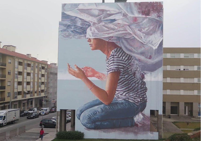 News on the artist's murals can be obtained via his instagram, facebook and twitter.