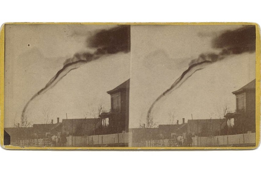 First photo of Tornado film